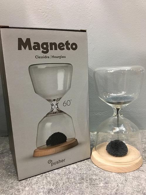 Sablier magnétique