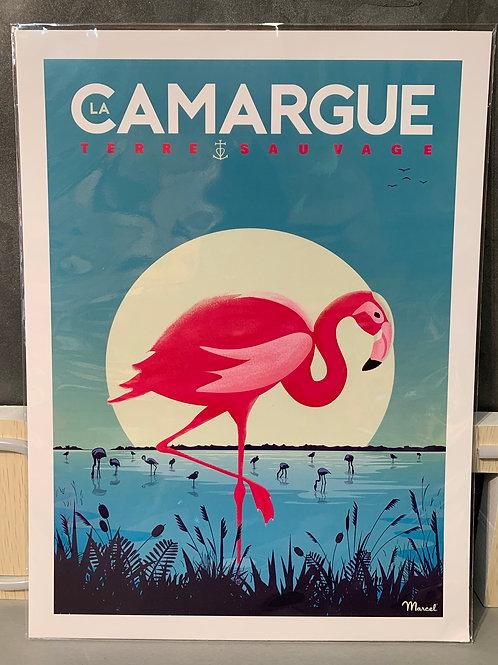 Affiche Marcel TOULON 30x40cm