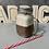 Thumbnail: Bougie chope de bière ou chocolat avec paille