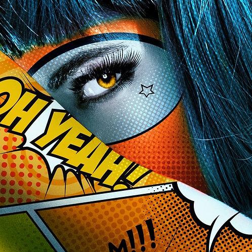 Oh Yeah ! by Monika Nowak Toile  à partir de