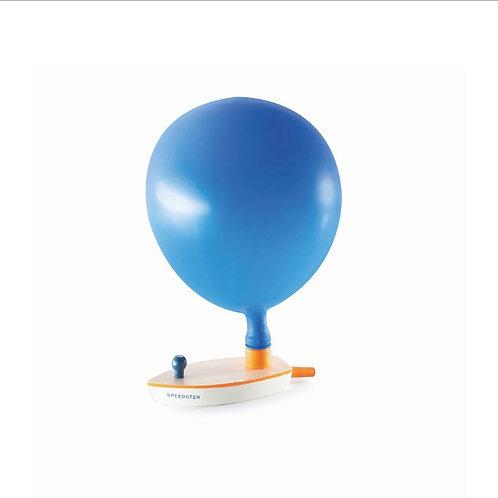 Bateau bois ballon à air propulsé
