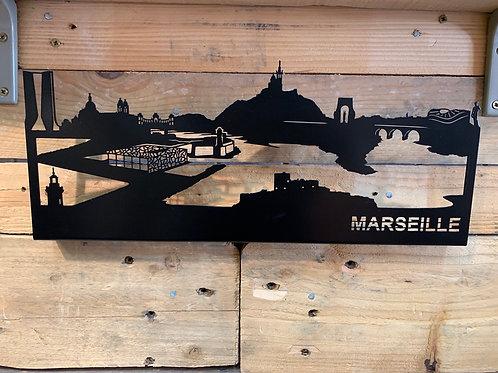 Skyline Marseille 40cm
