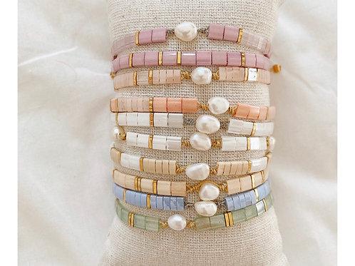 Bracelet kara perle d'eau douce