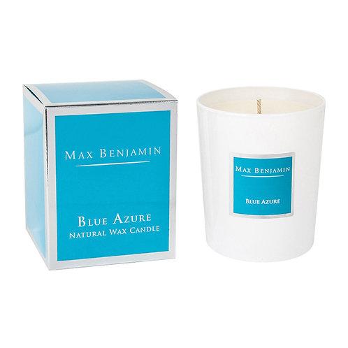 Blue azure Bougie parfumée Max Benjamin