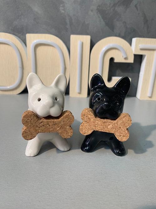 Salière poivrière chiens