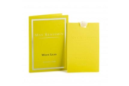 Carte parfumée Lemongrass Ginger Max Benjamin