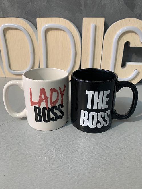Mini mugs lady boss/ the boss