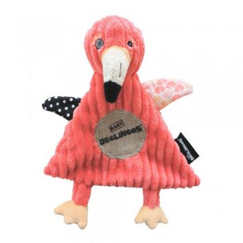 Doudou Baby Flamingos le flamant rose