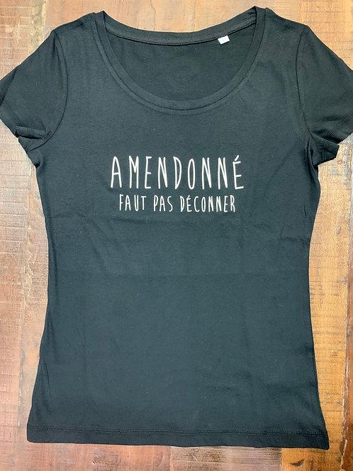 T-shirt femme AMENDONÉ