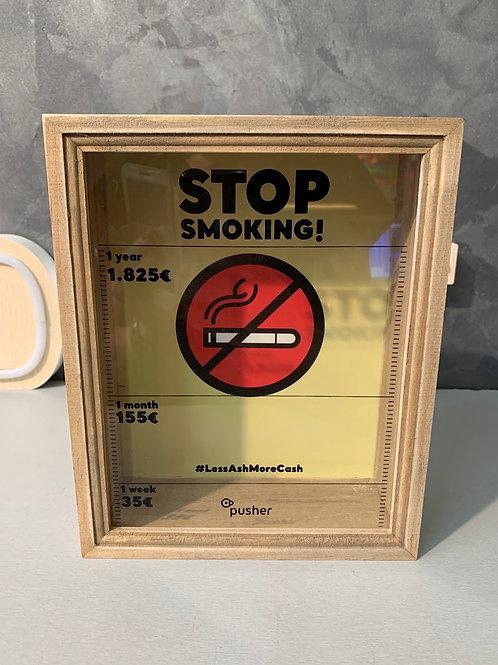 Tirelire STOP SMOKING