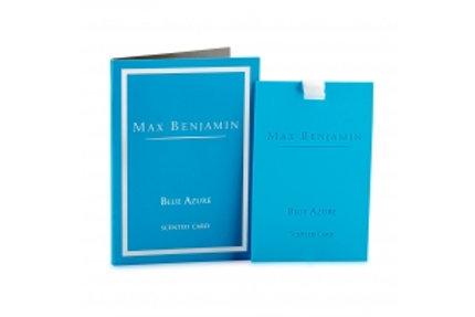Carte parfumée Blue Azur Max Benjamin