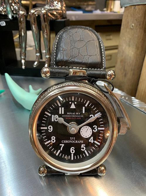 Horloge nickel 13 cm