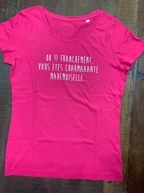 T-shirt femme OH FRANCHEMENT