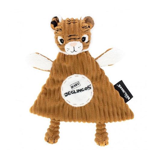 Doudou baby spéculos le tigre