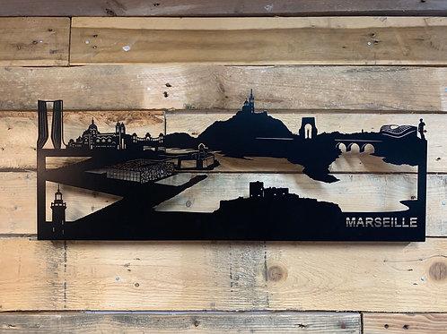 Skyline de Marseille 68cm
