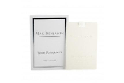Carte parfumée White Pomegranate Max Benjamin