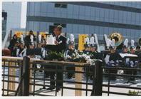 祝☆西郷生誕祭(188歳)上野公園西郷隆盛銅像前にて