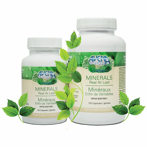 Minerals (Plant Based) - 120 Capsules