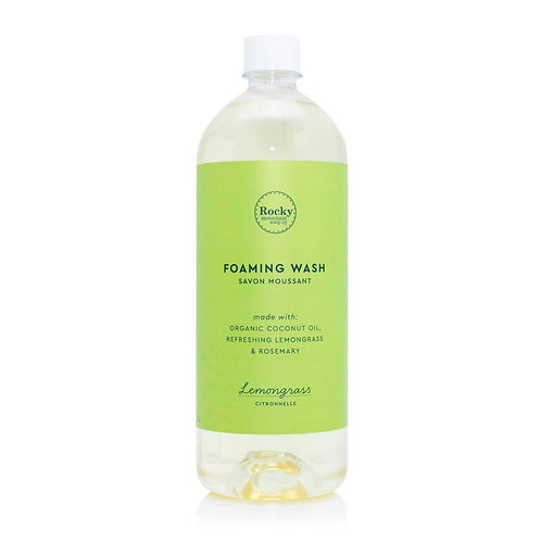 Lemongrass Foaming Wash - 1L Refill
