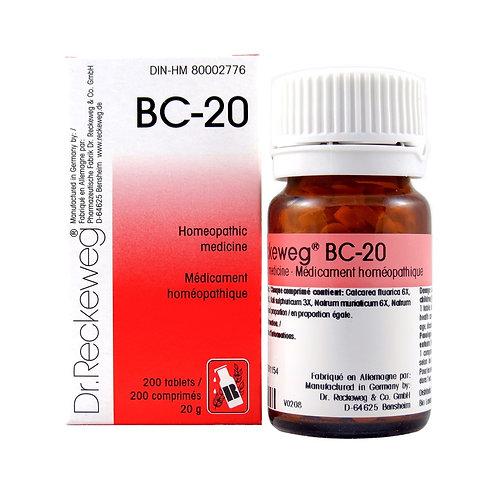 BC-20 (200 tabs)
