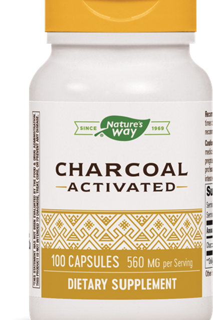 Charcoal, Activated (100 Caps)
