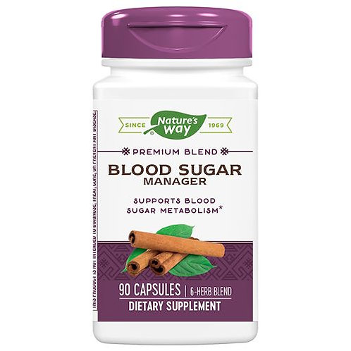 Blood Sugar Manager (90 Caps)