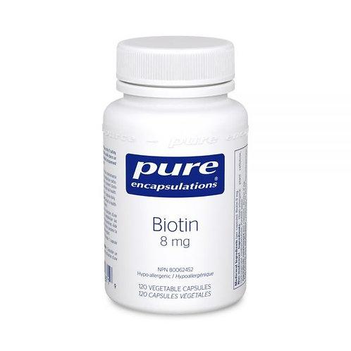 Biotin 8 mg (120 Capsules)