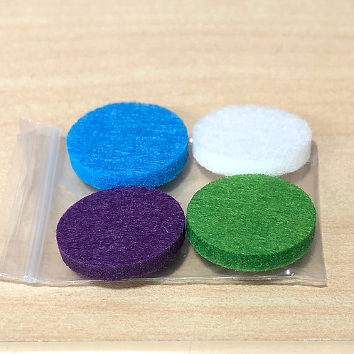 Aromatherapy Replacement Felt Pads (4 Pack)