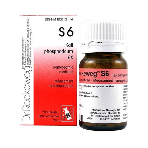 S6 | Kali phosphoricum (200 tabs)