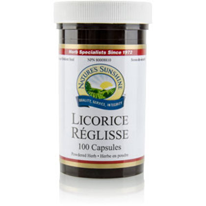 Licorice (100 Capsules)