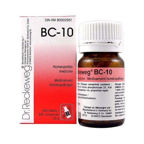 BC-10 (200 tabs)