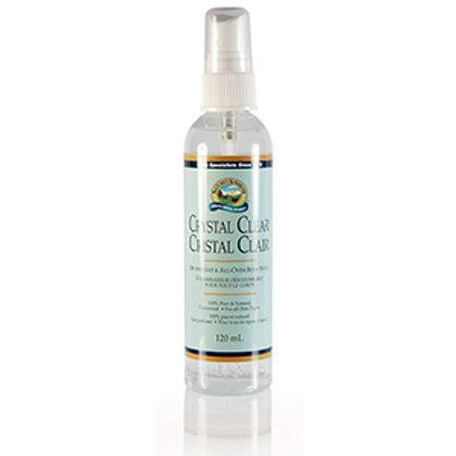 Crystal Clear Deodorant & Body Spray (120ml)