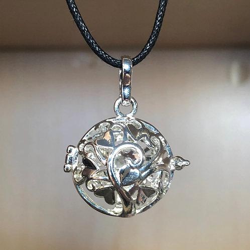 Lava Bead Aromatherapy Jewelry Cage
