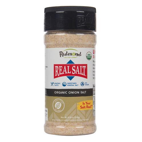 Real Salt Organic Onion Salt - 4.75 oz