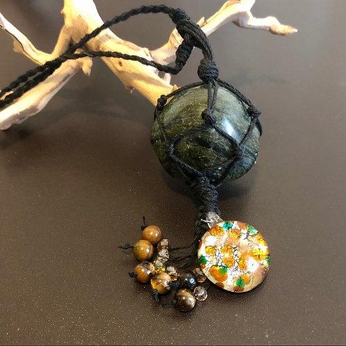 Verdite Gemstone Necklace / Ornament