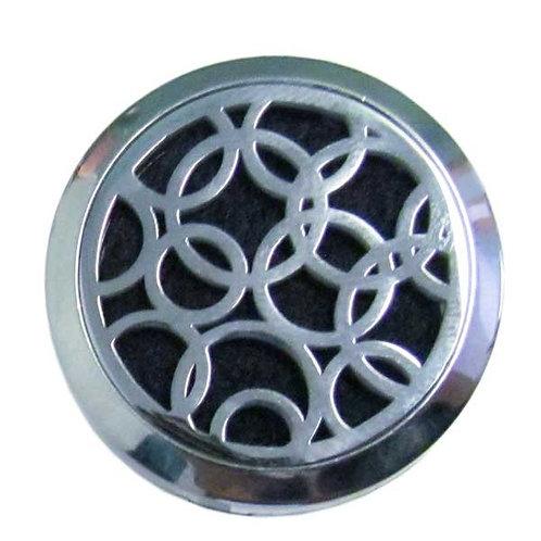 Aromatherapy Car Clip - Circles
