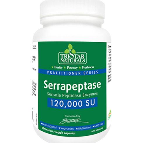 Serrapeptase 120,000 SU (120 Caps)