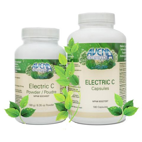 ELECTRIC C - VITAMIN C (180 Capsules)
