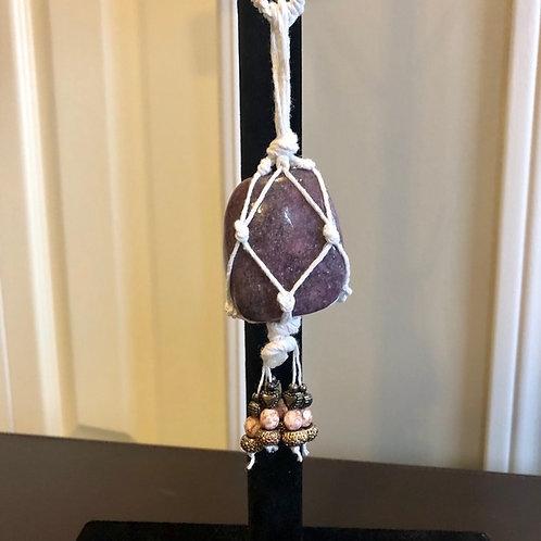 Lepidolite Gemstone Necklace