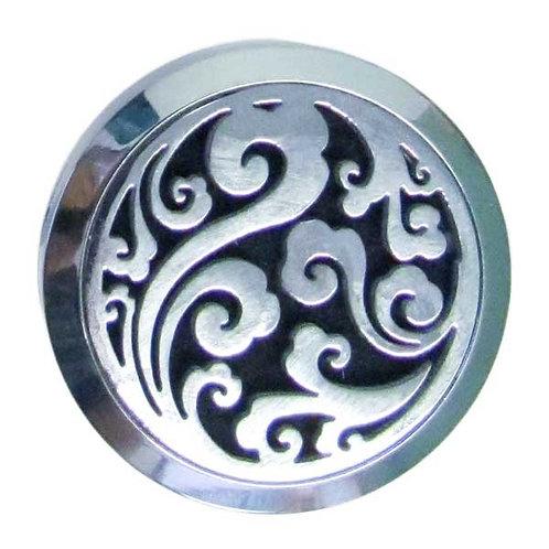 Aromatherapy Car Clip - Wave / Swirl