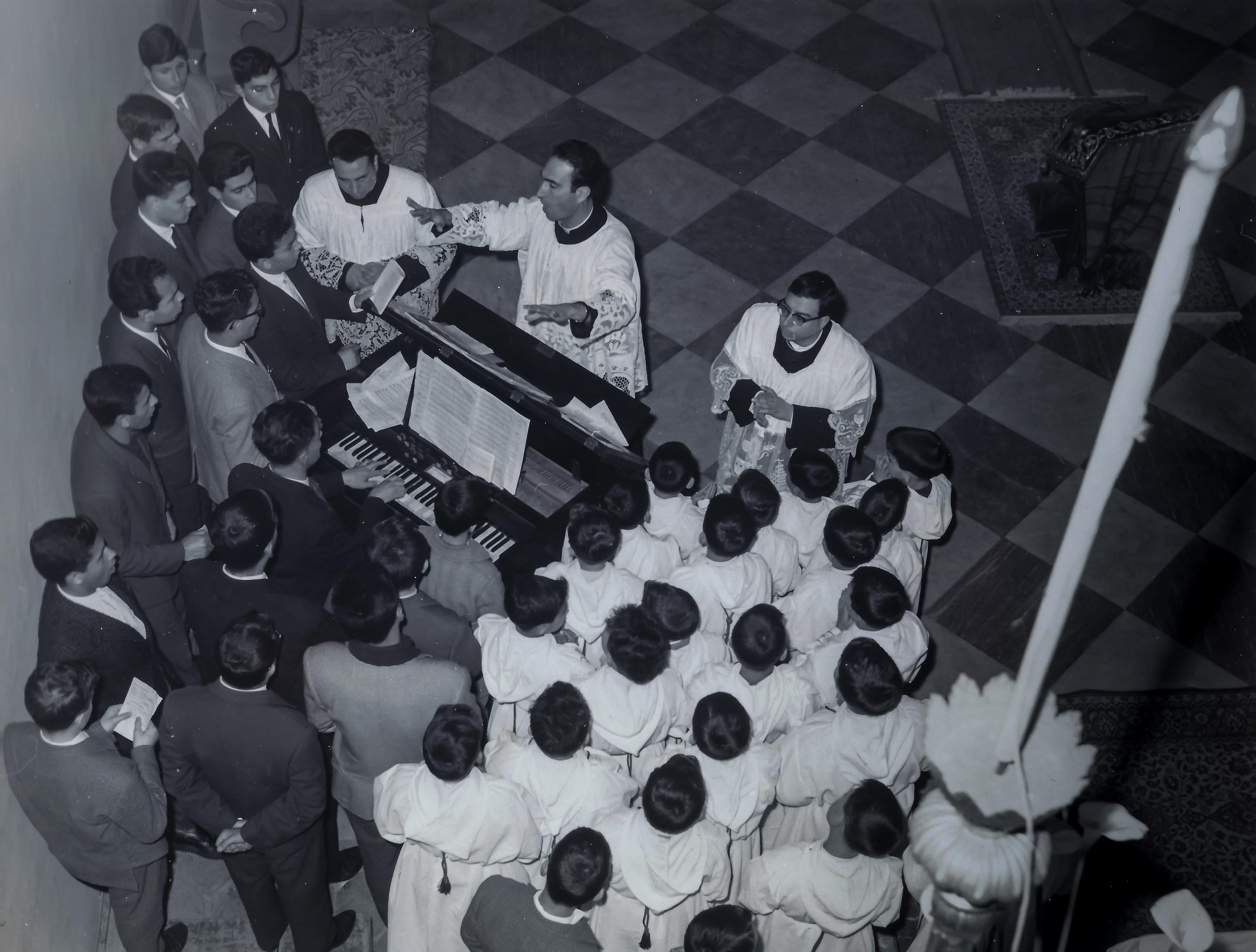 Cappela Musicale Jonia, anni 1960