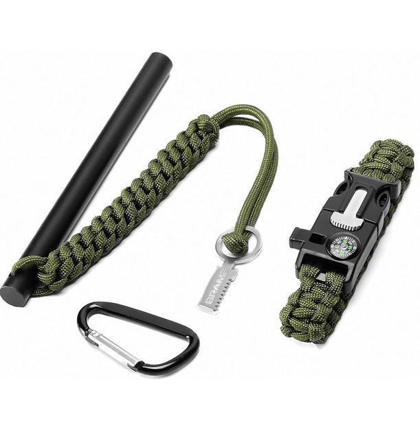 Fire Starter & Emergency Bracelet