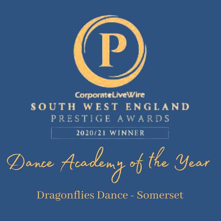Dragonflies Dance is an Award Winning Dance School