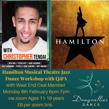 Hamilton Workshop with West End Cast Member!