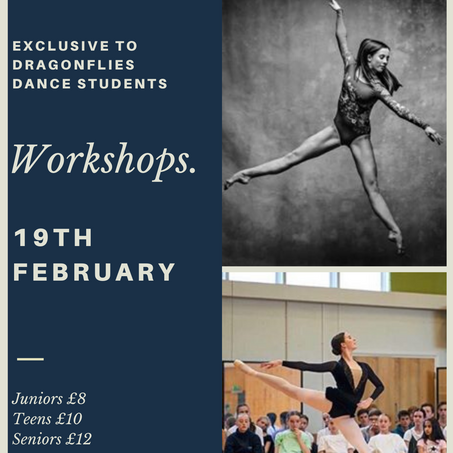 Professional Workshop February Half Term