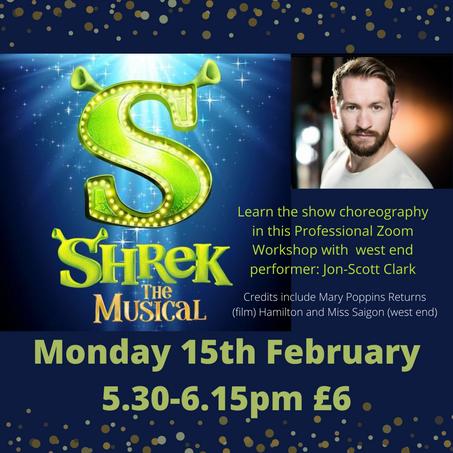 Shrek the Musical! - Half Term Professional Workshop