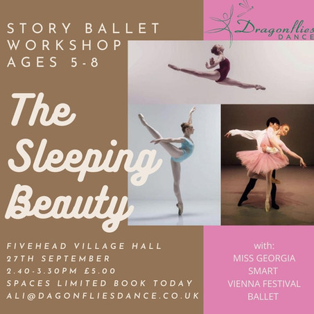 Professional Workshops With Georgia Rose from Vienna  Festival Ballet!