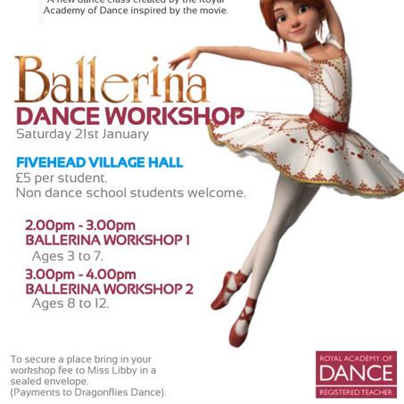 Ballerina Workshop - 21st January 2017