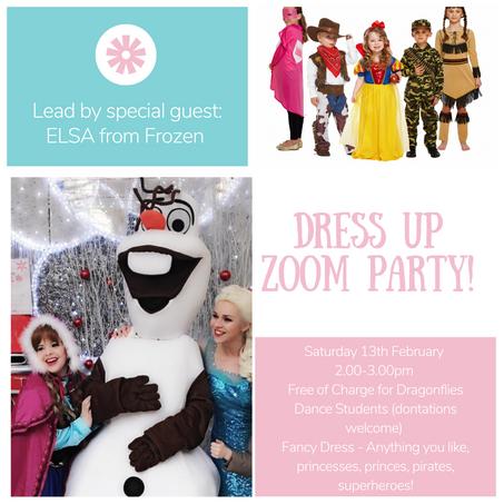 Special Guest Host - Elsa - A Fancy Dress Zoom Party