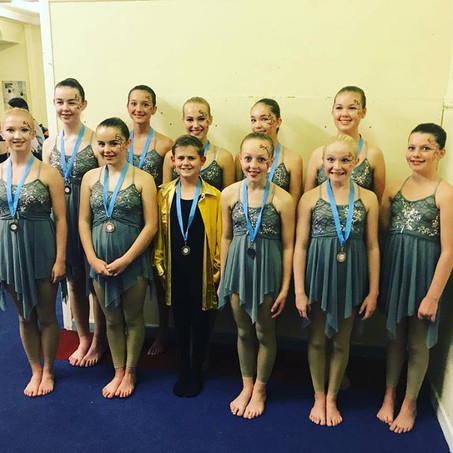 Weymouth and North Devon Dance Festival Success for Dragonflies Dance Students!